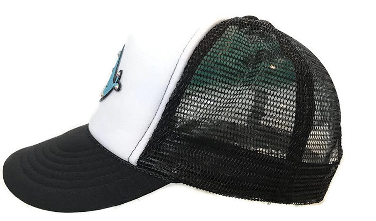 173b3503b9c Amazon.com  Lidsville Kids Hats Girls Snapback Narwhal Trucker for Sun  Protection and Trendy Summer Beach wear  Clothing