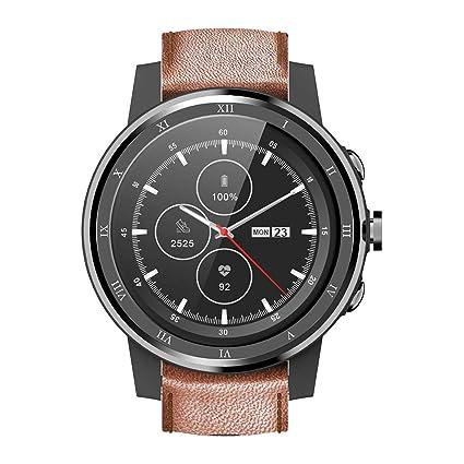 Ceramic Bezel Smart Watch, 3G Smartwatch with SIM Card Slot GPS,Ultra-Long Battery Life,IP67 Waterproof Wrist Watch with Heart Rate Sleep Monitor ...