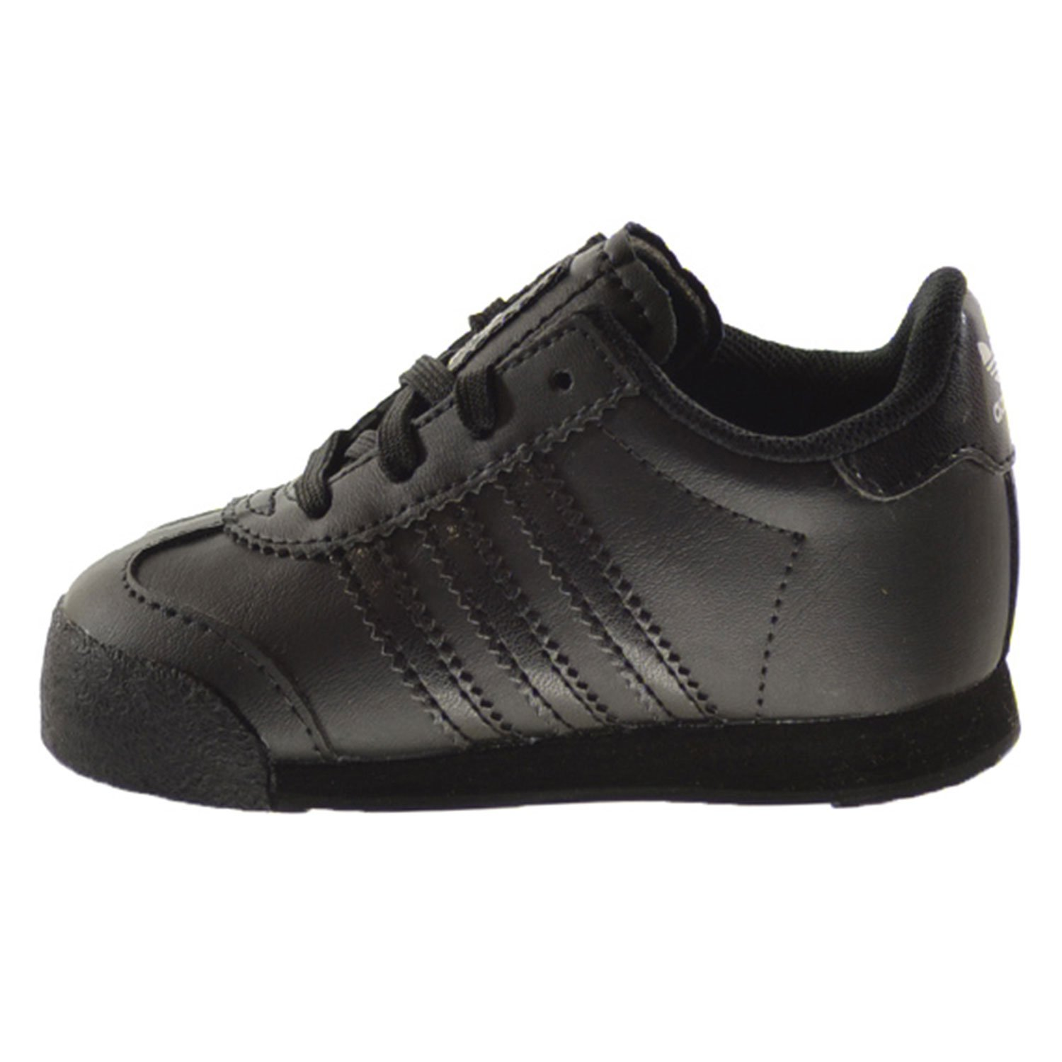 adidas Samoa I Infant Shoes Core Black//Core Black//Metallic Silver s85297
