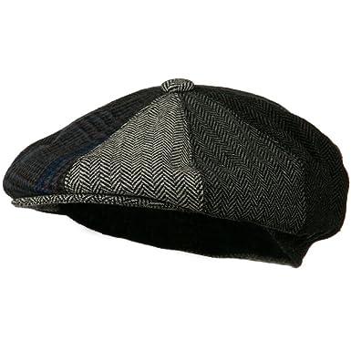 Men s Multi-tone Wool Apple Cap - Grey W16S52C at Amazon Men s ... 7922ae5eefe