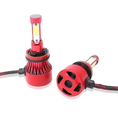 2240W 336000LM CREE LED Headlight Kit H11 H9 H8 6000K Low beam Fog Bulbs Power