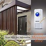 Homasy Wireless Doorbell, Waterproof Safety