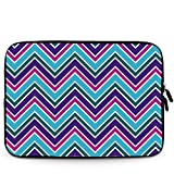iBenko 11.6-12.2 Inch Chevron Neoprene Sleeve Pouch Case Bag for New MacBook 12 inch/Macbook Air 11/Acer ChromeBook 11 C710 C720 C720P C740/Samsung Chromebook 2/Dell Chromebook 11/ASUS Chromebook C200 C201 X200MA/HP Chromebook 11/HP Stream 11.6 Inch Laptop and Other Brand 11-12.2