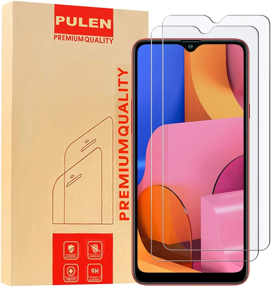 Amazon Com 3 Pack Pulen For Samsung Galaxy M51 Screen Protector Tempered Glass Hd Clear Scratch Resistant Bubble Free Anti Fingerprints 9h Hardness