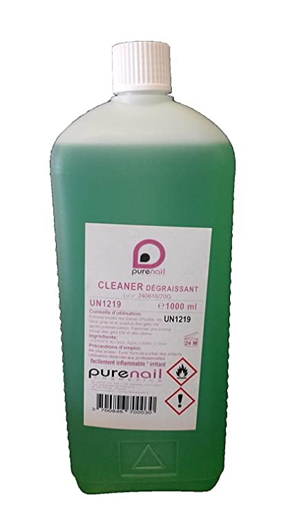cliner sgrassante unghie  Grande Cleaner Sgrassante 1 litro, per gel uv e unghie finte: Amazon ...