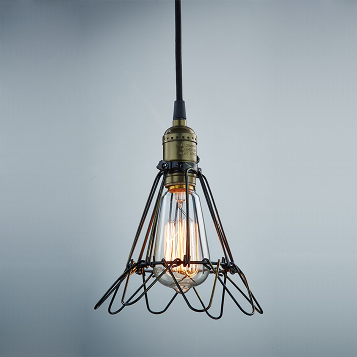 Ecopower Vintage Style Industrial Opening and Closing Hanging Light ...