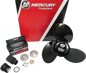 Mercury Marine Black Max Aluminum 3-Blade Aluminum Propeller 10 3/8 x 14 Pitch