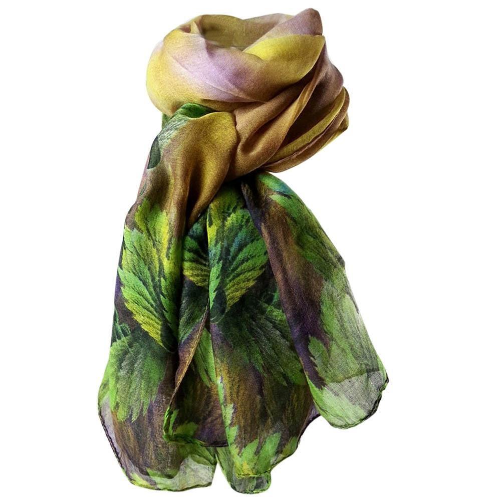 Écharpes châle foulards HUHU833 Femmes mode impression longue écharpe châle  Automne Hiver 0767f2d2ca7