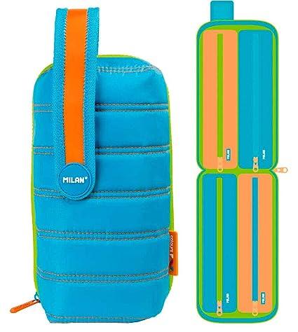 Estuche milan kit 4 estuches con contenido colours azul ...