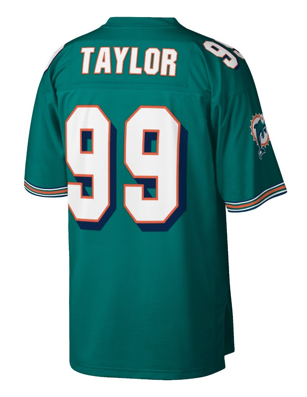 reputable site acdea 37727 Mitchell & Ness Jason Taylor Miami Dolphins NFL Throwback Premier Jersey