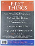 img - for First Things (Number 102, April 2000) book / textbook / text book
