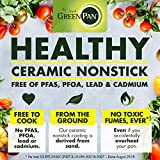 GreenPan Rio Healthy Ceramic Nonstick, Sauté Pan