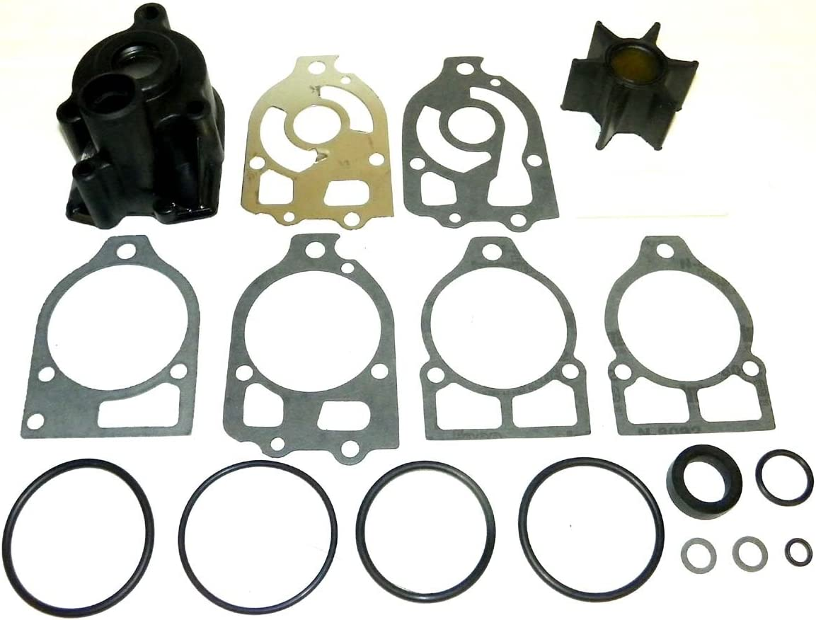 Mercury Impeller Complete Kit 90 Hp 6 Cyl 4845301-Up WSM 750-157 OEM# 46-60357A1 46-96148A5
