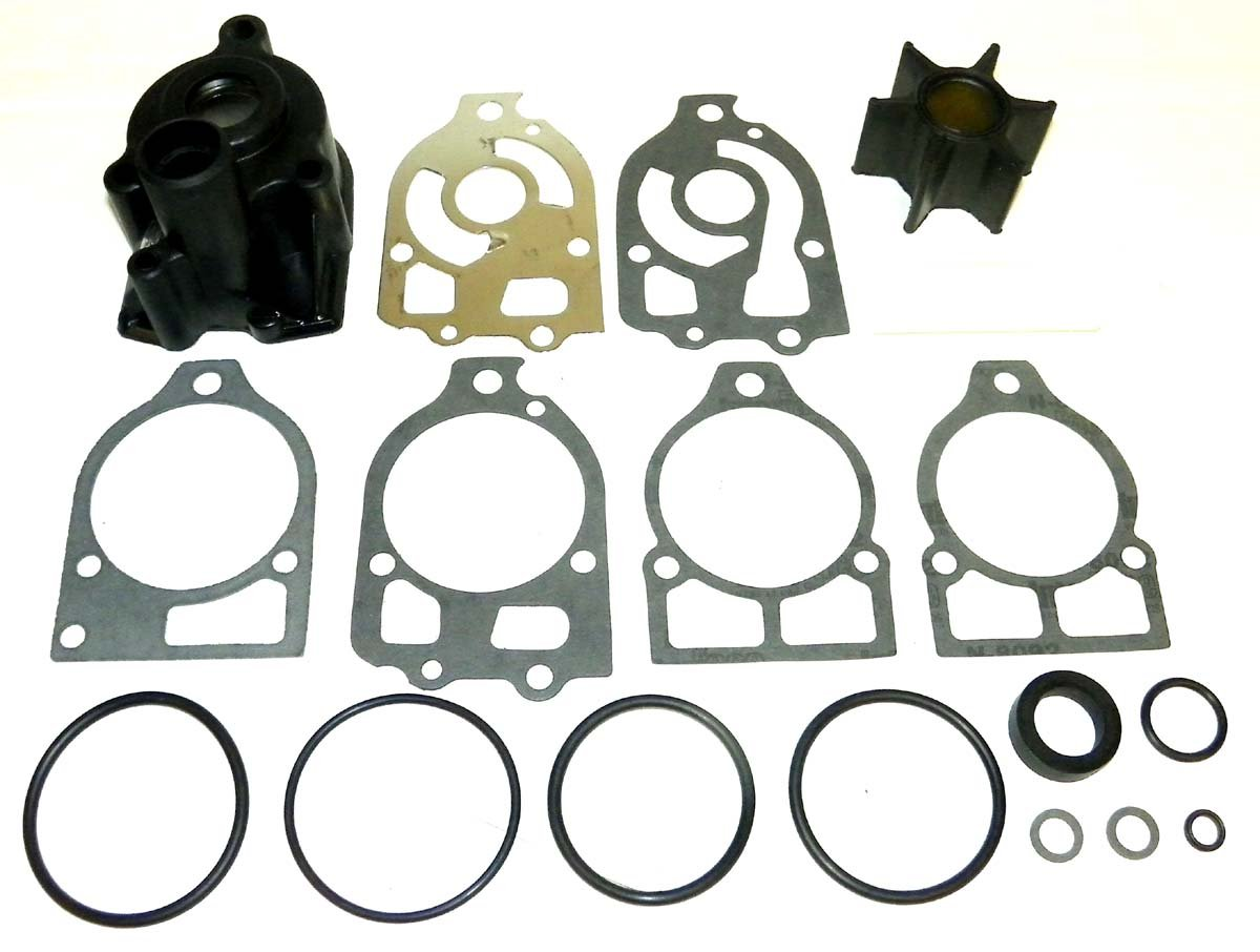 Mercury Impeller Complete Kit 150 Hp 4121435-4868647 WSM 750-157 OEM# 46-60357A1, 46-96148A5 Water Sport Manufacturing