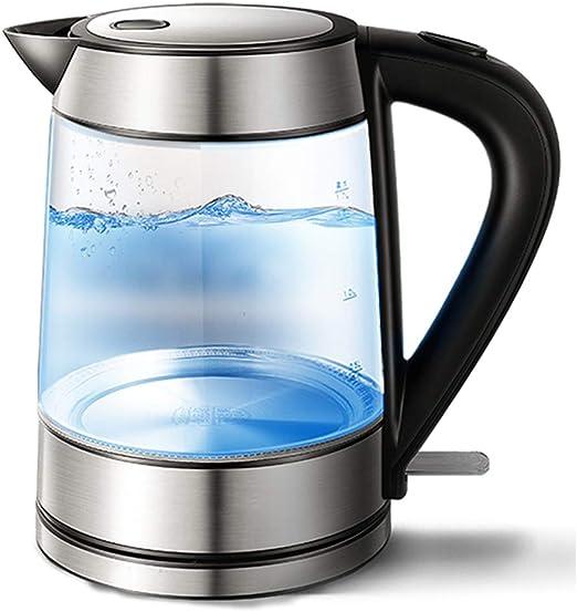1,7 Litros Luz Led Azul De Vidrio Hervidor Eléctrico Buy