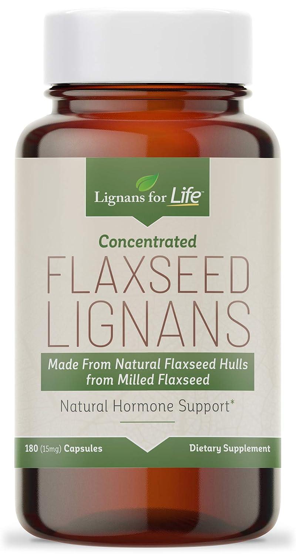 Organic Flaxseed LIgnans 30 mg Flax Hulls