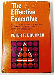 the effective executive by peter drucker pdf