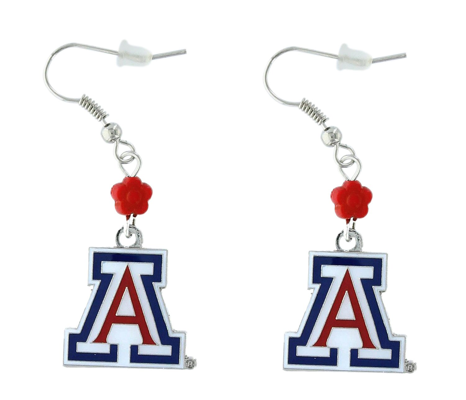 NCAA Arizona Wildcats Sophie Beaded Earrings