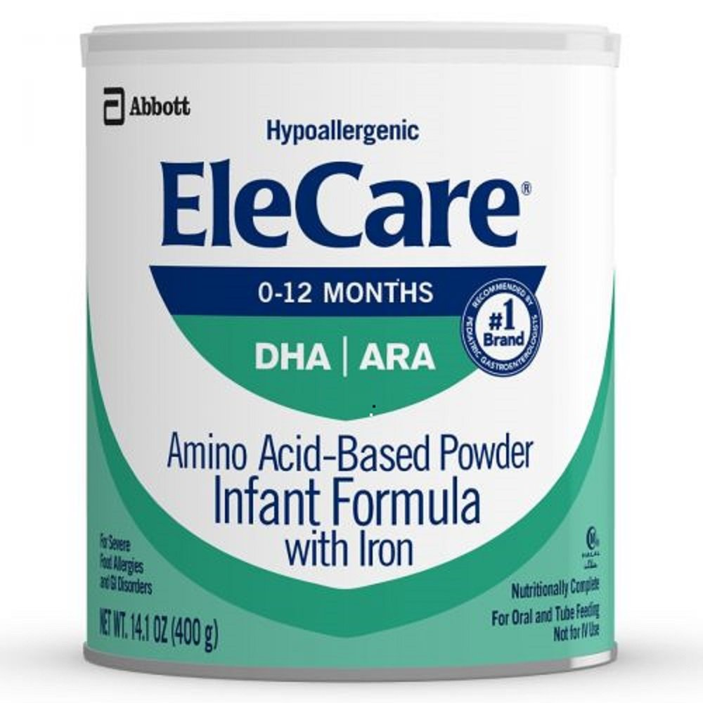 EleCare Infant DHA Baby Formula-Powder-14.1 Ounces-6 Pack by EleCare