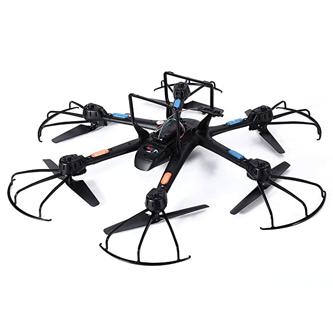 Amazon Com Mjx X601h Drone Fpv Hd Camera Rc Quadcopter Wi Fi Fpv
