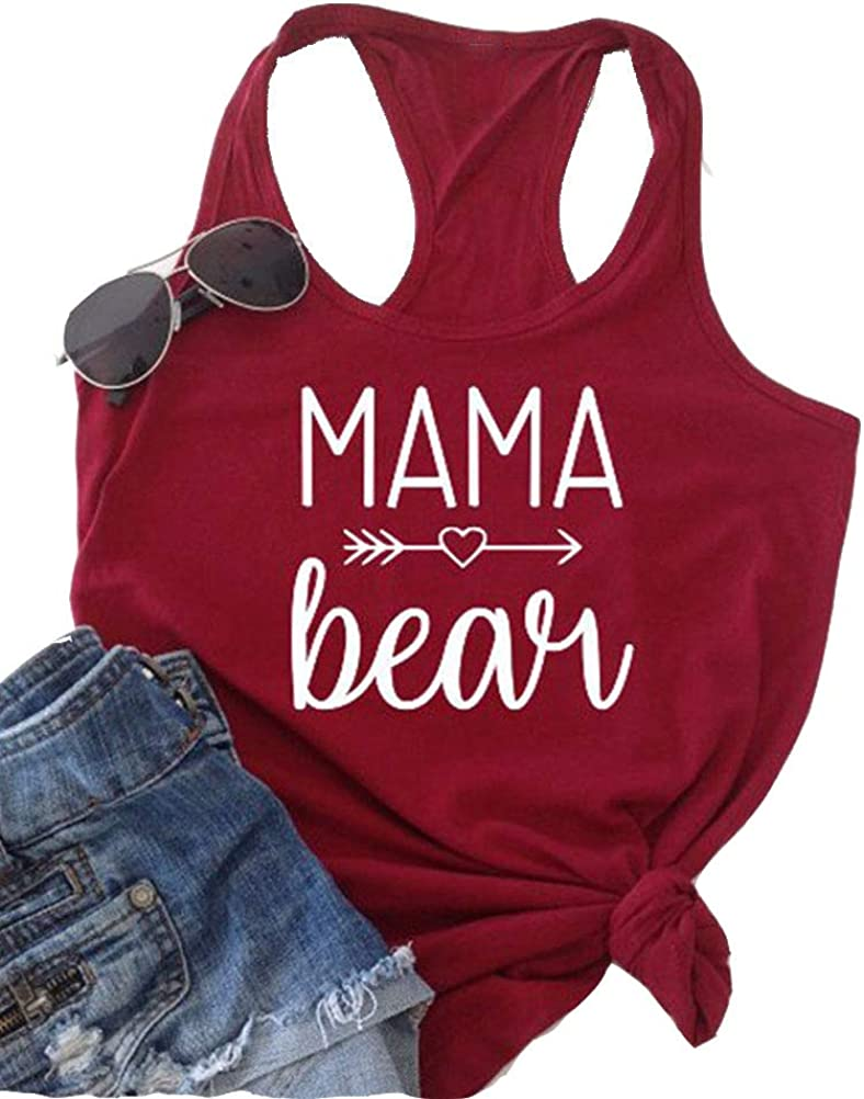 YourTops Women Mama Bear Sweatshirt