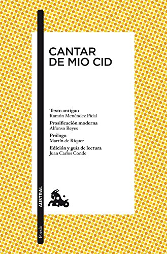 Amazon Cantar De Mio Cid Poesa N 1 Spanish Edition Ebook