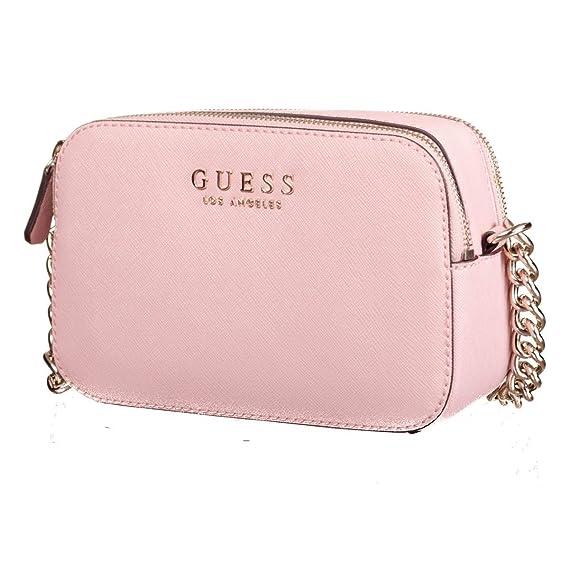 5a18154b183 GUESS Robyn Crossbody Camera Blush: Amazon.co.uk: Shoes & Bags