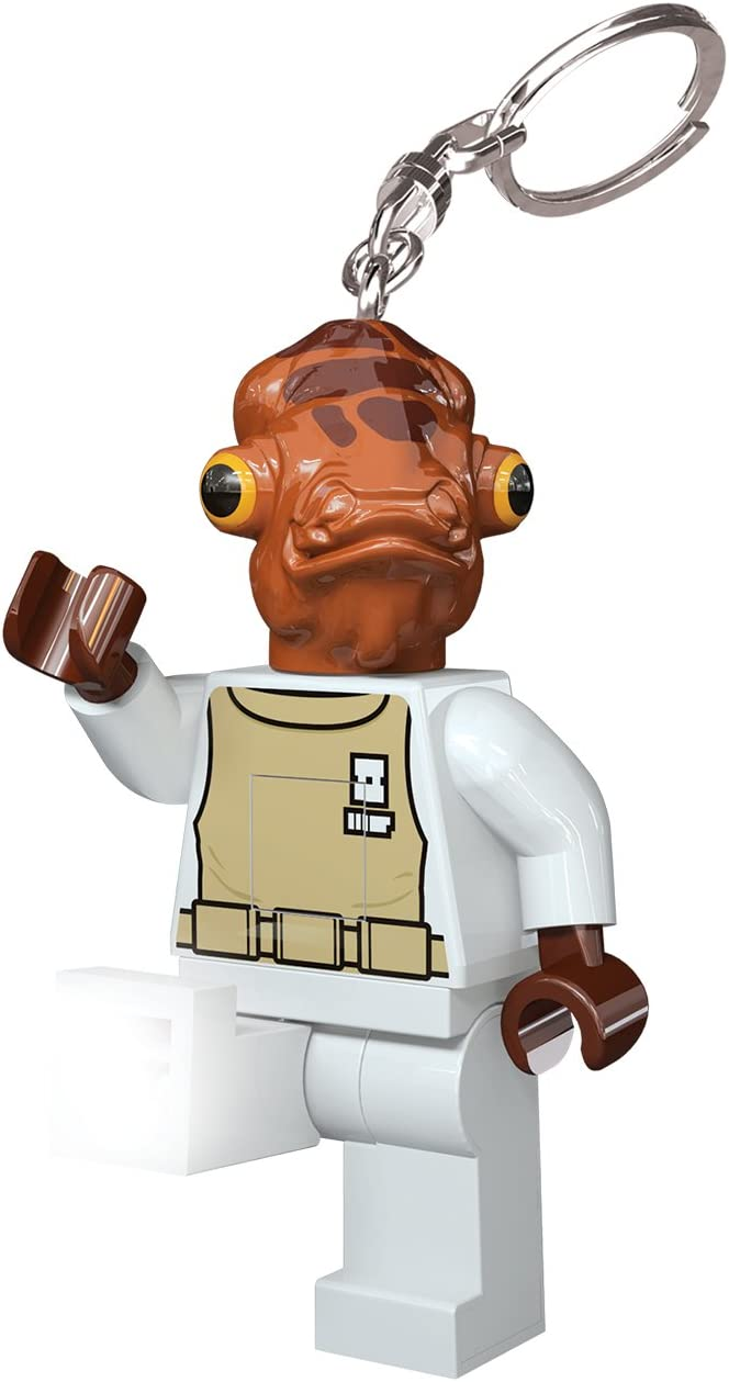 LEGO Santoki Star Wars LED Lite Key Light Keychain Admiral Ackbar