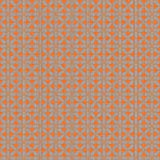 York Wallcoverings WH2698SMP Wallpaper-Her Vogue Wallpaper Memo Sample, 8-Inch x 10-Inch, Safety Orange, Brushed Silver
