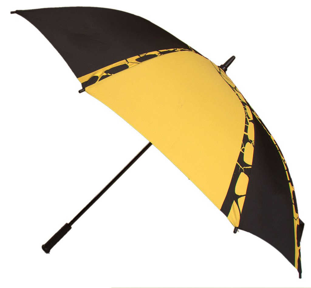 Generic Automatic Open Sport Umbrella Size 54inch Color Yellow