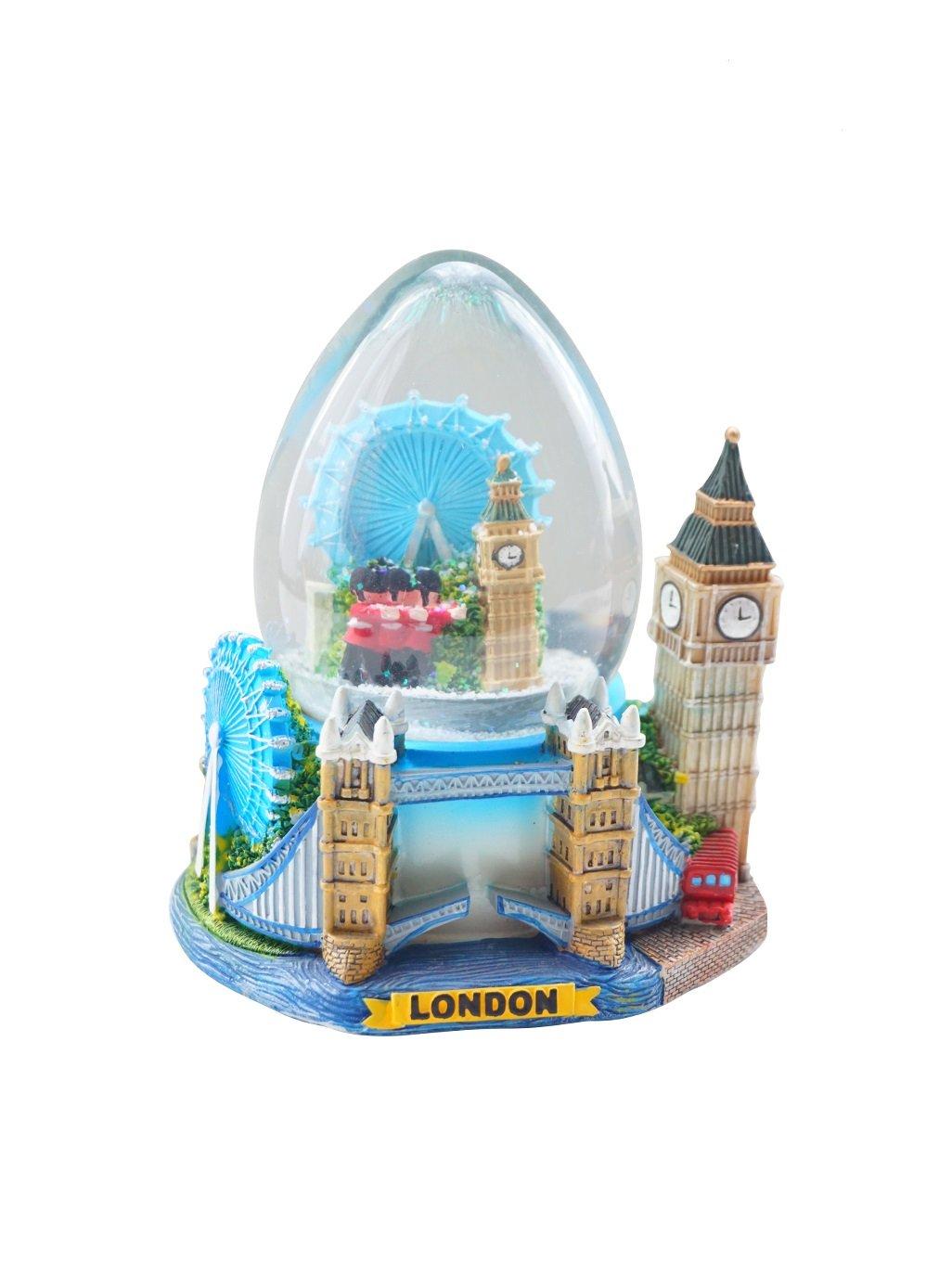 All Famous London Landmarks Mix Big Snow Globe ( Shoponica )
