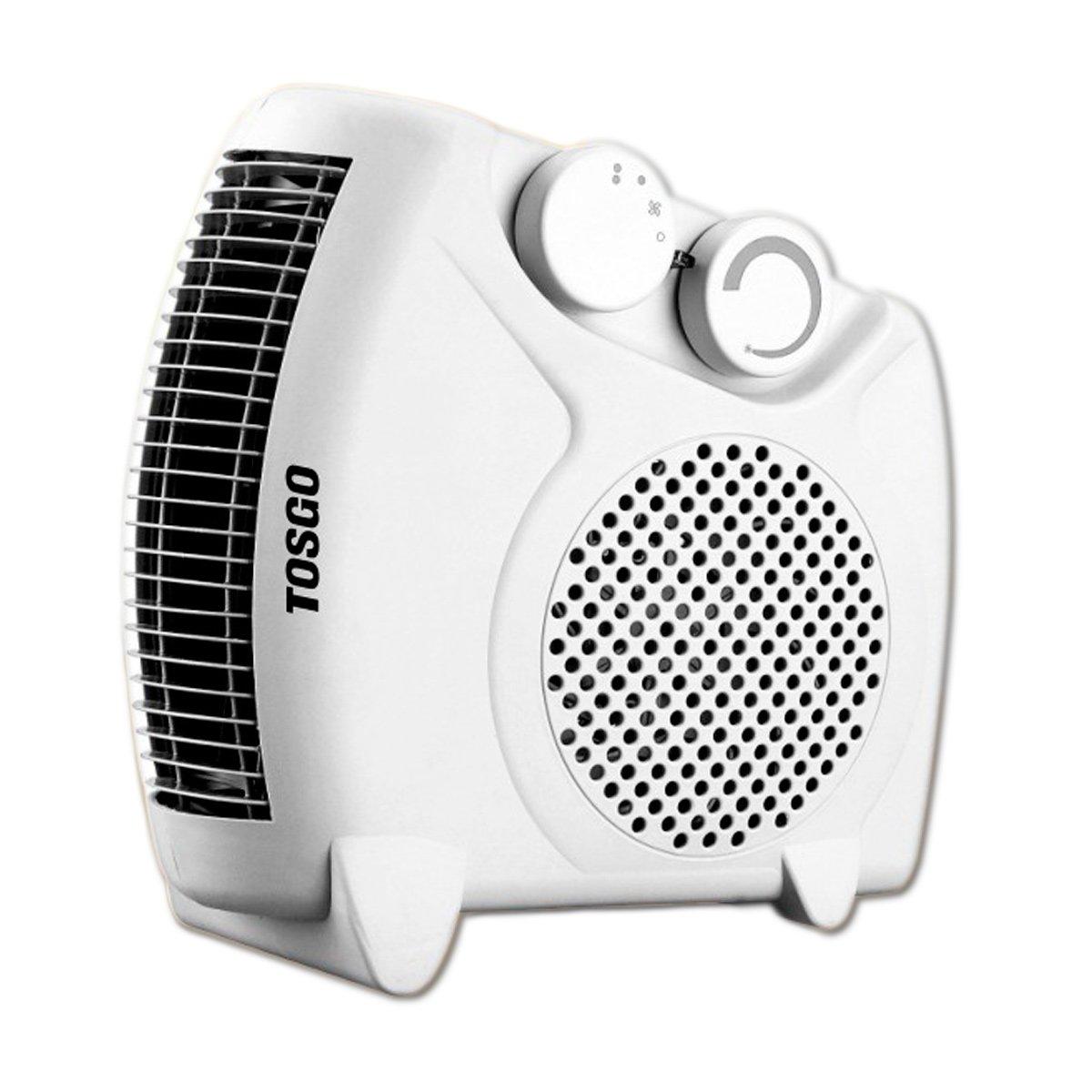 TOSGO TO-CA1180V, Calefactor Vertical de Aire Caliente con Termostato Regulable. Función de