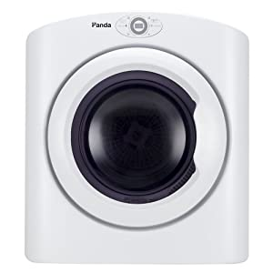 Panda PAN865W 2.65 cu.ft Compact Laundry Dryer, White