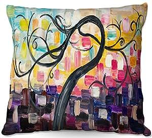 DiaNoche Designs Al Aire Libre Patio sofá Manta Almohadas by Lam FUK Tim–árbol de Colores VL