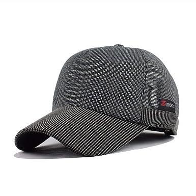 Asbjxny Gorra de béisbol para Hombre Sombrero de algodón Snapback ...