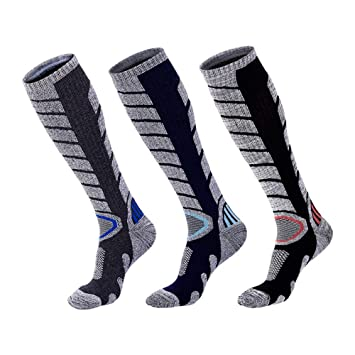 XUHAHAWZ Calcetines/Warm Socks/Long Tube/Ski Socks/Mountaineering/Men/