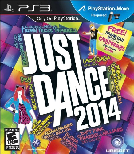 Just Dance 2014 PlayStation 3 PS3 Rated E for Everyone