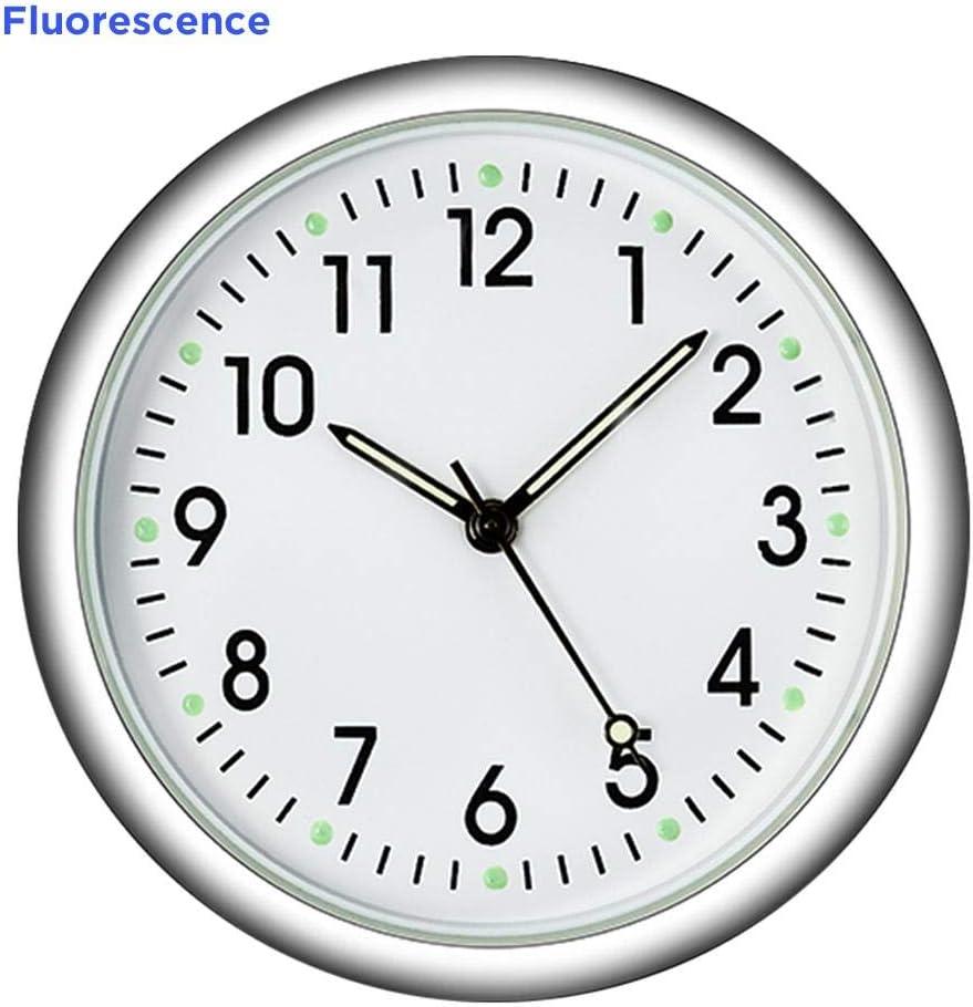 Rikey D/écoration Automatique Compteur /électronique Horloge de Voiture Horloge Int/érieur Autocollant Montre Accessoires Voiture Valuable