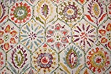 Multicolored Tile Design Antique Stone Multi P Kaufmann Fabric
