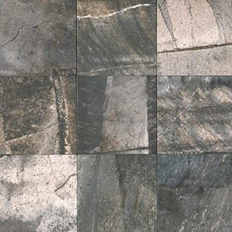 Daltile PRP Porada X Square MultiSurface Tile - 20x20 slate tile