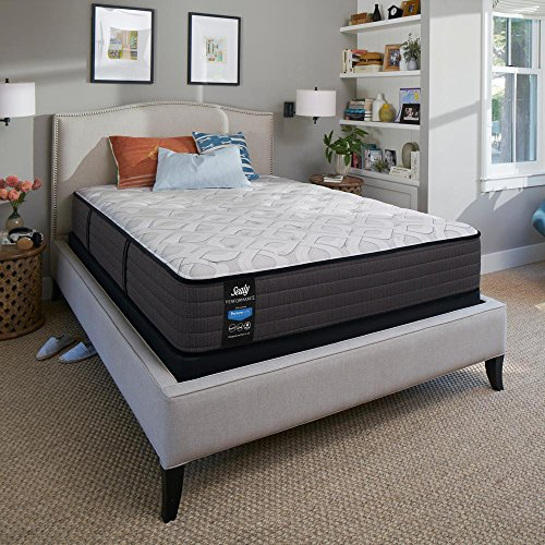 Sealy Response Performance 12.5 in. California King Plush Tight Top Mattress Set with 9 in. High Profile Foundation