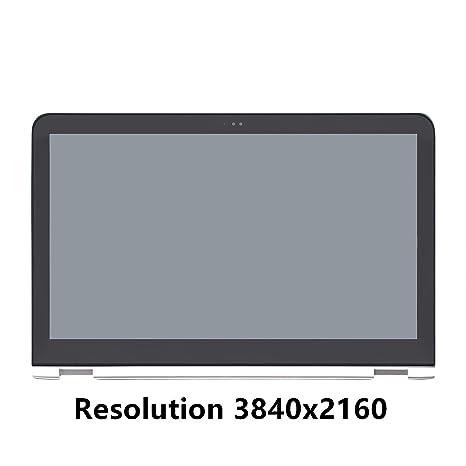 FTDLCD 15.6 4K FHD IPS Panel LCD Pantanlla Táctil Digitalizador Asamblea con Marco Reemplazo