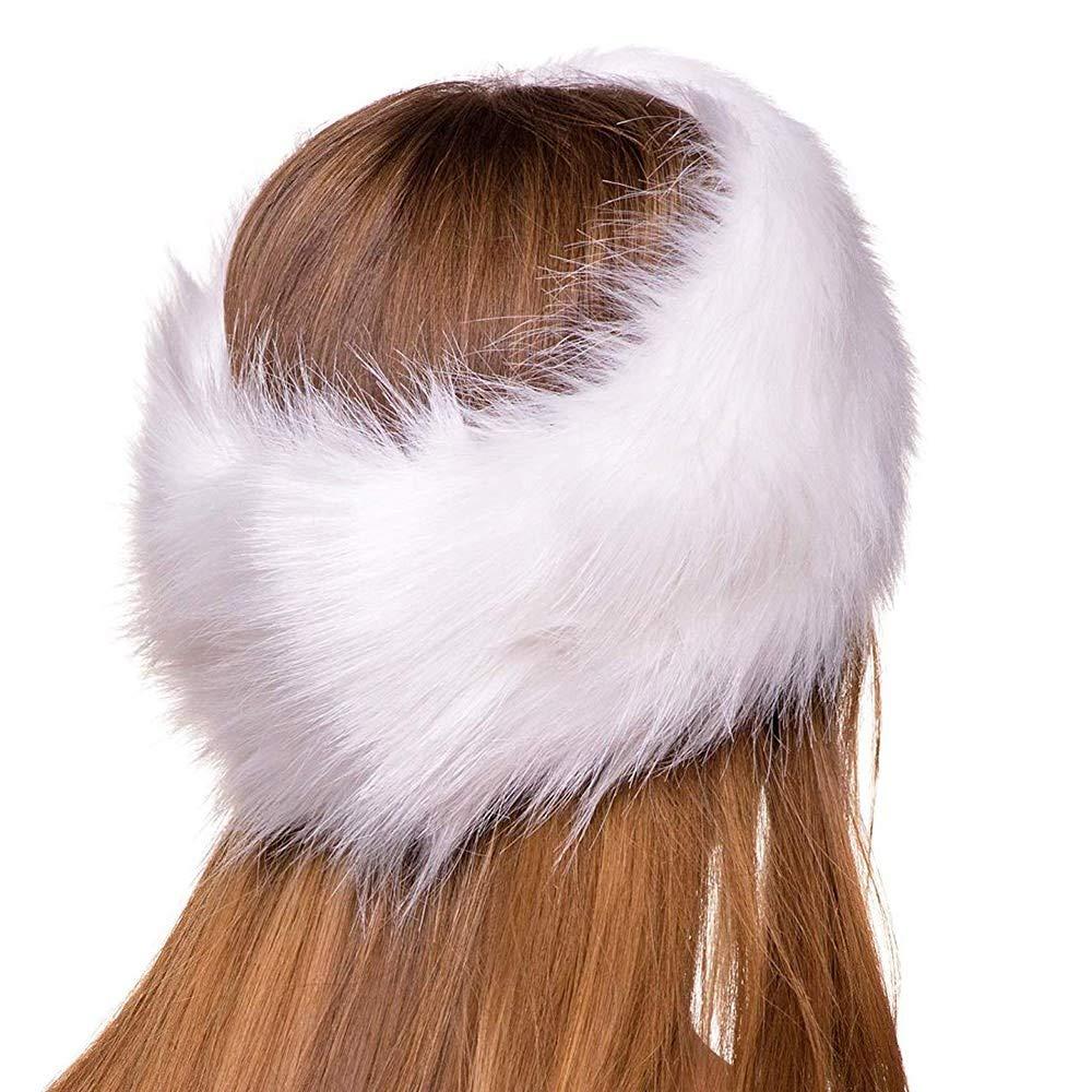 Winter Faux Fur Headband...