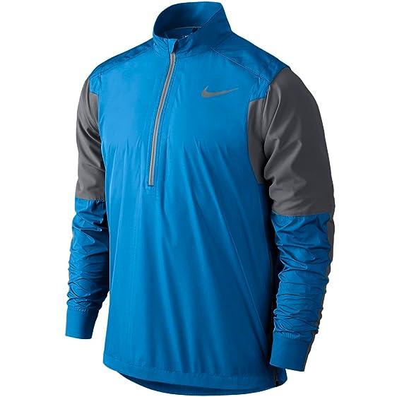Mens Nike Hyperadapt Shield Light Photo Blue/Dark Grey Golf Jacket