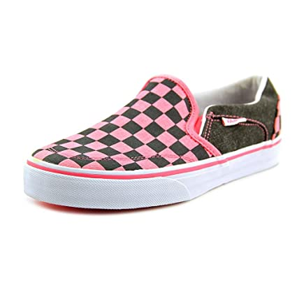 Amazon.com  Vans Pink Asher Skate Shoes - Women  Everything Else b65574bd0