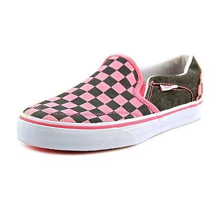 Amazon.com  Vans Pink Asher Skate Shoes - Women  Everything Else 4e1957cf6