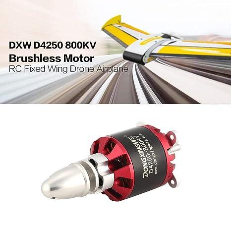 Dailyinshop DXW D4250 800KV 3-7S Outrunner Motor sin escobillas para RC Avión de ala