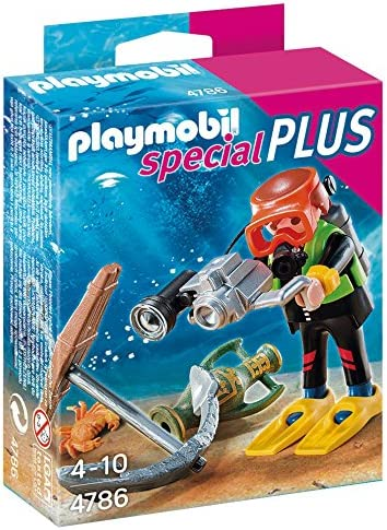 PLAYMOBIL Especiales Plus - Submarinista del Tesoro Playsets de ...