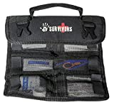 Product review for 12 Survivors Mini First Aid Rollup Kit