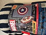 Marvel Captain America Plush Throw